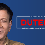 Congress has proclaimed Rodrigo Roa Duterte President-elect of the Philippines. https://t.co/uSNtj4nxGi
