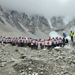 Everest Marathon 29 May 2016 - The race started from the Everest Base Camp at an altitude of 5,364 metres https://t.co/qIWsgLaWhx