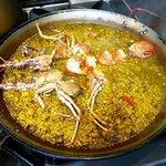 Arroz a banda con langosta #sabor #cocinaibicencademar #Ibiza #peixnostrum. Foto (c) luxeat https://t.co/RLCEs6erQH