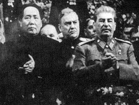 1949, rencontre #Mao Tsetung-Staline, la République populaire de #Chine est