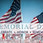 Today we remember those who made the ultimate sacrifice. We are forever thankful. https://t.co/FucaVJ6z9r