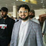 Dr Hassan Qadri arrives back to Lahore after attending political & religious meetings, seminars in Karachi. #PAT https://t.co/kAyJ0cAkom