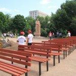 В Бишкеке благоустраивают сквер имени Горького. https://t.co/WFjtVNd4sA https://t.co/dq5G8JWpB1