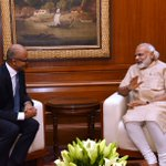Discussed various issues pertaining to the IT sector with @Microsoft CEO @satyanadella. @MicrosoftIndia https://t.co/QYYYS49XRP