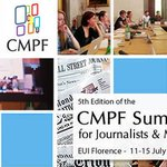 Great opportunity! 15 scholarships for the @CmpfEui summer school! https://t.co/MKnlxj4WNT #mediapluralism #Florence https://t.co/2KQ9ipfN8M