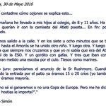 Pedro Simón, y su vuelta al cole, hoy lunes. #Atleti https://t.co/PcrSRsswNH