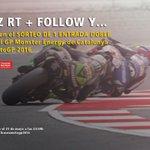 ¡SORTEO! Haz [RT+FOLLOW] y participa en el sorteo para ir al GP de Catalunya de #MotoGP https://t.co/r4uKuuBNqw https://t.co/8NXf732915
