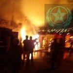 Trabajo de bomberos de#Antofagasta en fuego en vivienda ocurrido esta madrugada en calles Elqui y Punta Arenas https://t.co/OaxJ45FERR