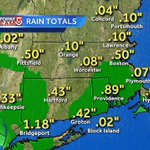 "1/2"" of rain in #Boston since midnight...nearly 1"" in Providence. Wet start to Memorial Day- Drier afternoon #wcvb https://t.co/lJPmVt0rv5"