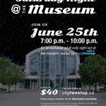 Adult only #yegtweetup @ReynoldsABMuse June 25th, #museum after dark! https://t.co/6MnSrlOPs8… #yegevents #yeg https://t.co/76lPnxVjXE