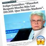No se de que se sorprende el personal, esto de Felipe González y los dictadores genocidas es un clásico. https://t.co/UZFjM7DEym