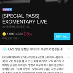 EXOMENTARY Live ft. Individual broadcasts, Comeback Stage, EXO Bowling Competition take my $$$$$$$$ SM, VApp, EXO!! https://t.co/oVaWREWVeU
