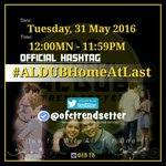 """Faith makes all things possible, Love makes all things easy."" ????OHT #ALDUBHomeAtLast Welcome back home !❤️ https://t.co/FYpnzf4MoI"