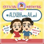 Home is where the heart is. ❤️☺️ So happy that our beloved pair is back in the country! OHT: #ALDUBHomeAtLast ✨ https://t.co/VKaYE8vn7F