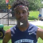 Interview: Another slow section winner - 4A boys 400 champ Jacari Ramsey of @springbrooktf15 https://t.co/tdYrRGwpqE https://t.co/sxM2CuDmeH