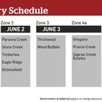In case you havent seen - heres the tentative re-entry schedule for #YMM this week. #YMMfire #YMMhome https://t.co/YZgDVpi2j8
