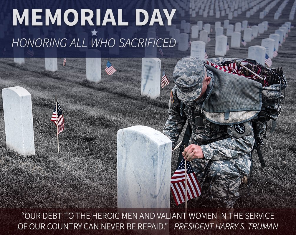 Smith & Wesson remembers and honors all the service men & women who have paid the ultimate sacrifice. #MemorialDay https://t.co/SSicWfEw8K