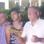 #VIDEO Poco antes de la media noche fue rescatado el futbolista #AlanPulido en #Tamaulipas https://t.co/XV4Hm5mWuj https://t.co/WhKqi1dw9e