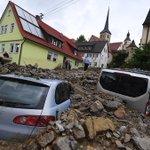 """Meistgesehen: """"Naturkatastrophe"""" im Süden Deutschlands: Unwetter hinterlassen… https://t.co/xrNSz3D7AW (Vid) https://t.co/8Jksf0nAfF"""