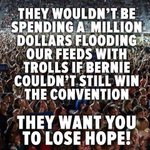 """RT JamesMArcher: Its close. If Clinton was not deeply worried thered be no """"feel the math"""" campaign. #BernieOrBu… https://t.co/KP9XNd2Upc"""