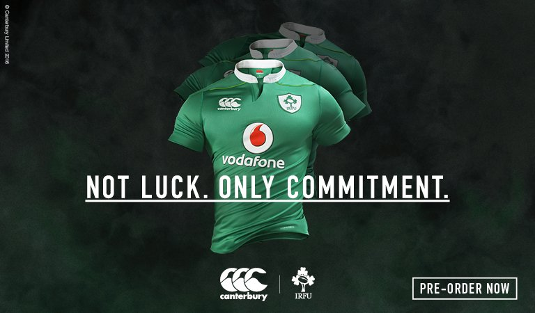 The new @IrishRugby jersey has been revealed. Pre-order online now for delivery July 21st https://t.co/kxrnAxJW4s https://t.co/ZRjyjmx0zn