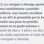 Sobre gasto electoral en campaña, además ley NO permite bingos, rifas, regalos y otros similares #Antofagasta #Chile https://t.co/v0wjXl6msM