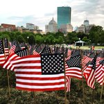 37,000 American Flags on the Boston Common in remembrance of fallen Massachusetts soldiers on this Memorial Day. https://t.co/C9j81FgDFF