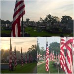 PHOTOS: Avenue of Flags at Orange Grove Cemetery #LakeCharles #swla https://t.co/SDwHuGsRmY https://t.co/KcE7FqlTMy