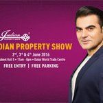 Hello Dubai! I'm back to inaugurate @IndianPrptyShow on 2nd June at DWTC. Hope to see you there! #IndianPropertyShow https://t.co/Zz1cilmayp