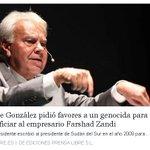 Lo peor no es que Felipe González escriba cartas a dictadores, lo peor es que Pedro Sánchez y el #PSOE no lo echen https://t.co/rAb0j4k4Tc