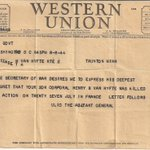 There were 400,000 of these telegrams sent out in 1941-5. #MemorialDay https://t.co/aFVHNxBqc8