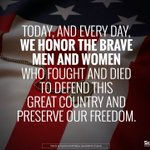 Honoring the brave men & women who fought and died to defend our country and preserve our freedom. #MemorialDay2016 https://t.co/qnrjypsIf6