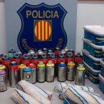 Als detinguts sels ha intervingut pots desprai i pintura i rodets per cometre actes vandàlics a la L5 #metrobcn https://t.co/EVAJI3vbBu