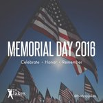 Thank you to all of our veterans who fought for our freedom! #MemorialDay https://t.co/07xehfMM5z