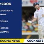 Congratulations Alastair Cook on scoring 10,000 Test runs! https://t.co/As1JNvusl1