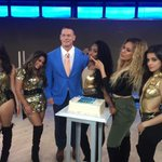 Just hours before his anticipated #RAW return, @JohnCena hosted @nbcs @TODAYshow! @FifthHarmony https://t.co/nnkkFN0f1T