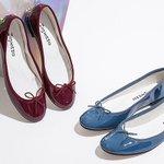 レペットの新作シューズ - 人気モデルのサンドリオン、カミーユ、ブリジットを秋の赤と冬の青に染めて - https://t.co/v9YoqpHmS2 https://t.co/IBcI6YuB2J