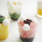 トラヤカフェから夏定番「みぞれ」- マンゴーやすいかのフルーツとあんを合わせた4種の味 - https://t.co/0t9Oid6AC4 https://t.co/Ewjqpg0RWI