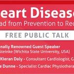 Two days to go! REGISTER NOW FREE Public Talk on #heartdisease https://t.co/OaGQO57NwE @CroiGalway https://t.co/TSOFZMNn9N
