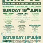 THE OFFICIAL #NMF16 LINE UP IS HERE!!! Sunday 19th June across the TOWN CENTRE! #northampton #festival #music https://t.co/GmJtJ41jn8
