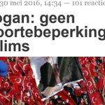 """Erdogan: """"Moslims moeten zich vermenigvuldigen"""". Dé Islamitische veroveringsmethode. https://t.co/rDS8rScLde https://t.co/dX2tqvFj3Y"""