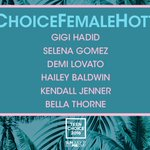 Want to see your pick for #ChoiceFemaleHottie take home a surfboard? Visit https://t.co/xoUyvkD2rf NOW! #TeenChoice https://t.co/fZF3noBIjJ