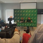 Adriaan Strauss at his first @Springboks press conference as Bok captain number 57 @SuperSportTV @SuperSportBlitz https://t.co/LPLTdlMRiq