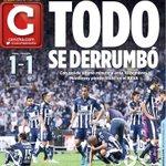 OPINA: Así amaneció @CANCHAELNORTE en su edición impresa tras perder @Rayados el título ante @Tuzos https://t.co/WSIXd1gNZN