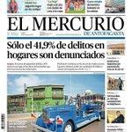 """""""#Antofagasta retrocedió en él tiempo"""" Nuestro carro Pirsch en la Portada del Diario #ElMercurio #DiadelPatrimonio https://t.co/qe9JjP9uQj"""