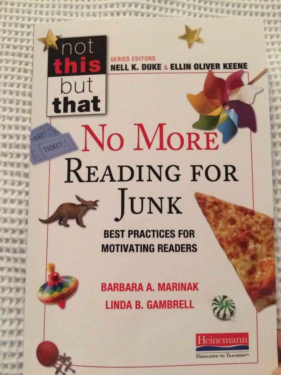 Reading incentives & rewards harm children's intrinsic reading motivation. No More Reading for Junk! #bookaday https://t.co/sTCIOWGa6N
