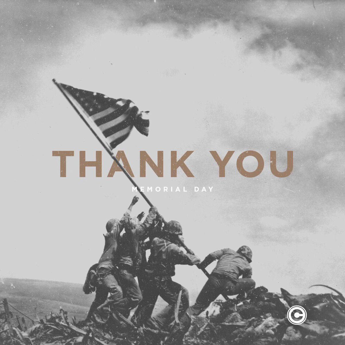 Today we honor the men and women who made the ultimate sacrifice for our freedom. Thank you. https://t.co/CwciFDvLtU