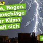 Stürme, Regen, Blitzeinschläge - die Unwetter vom Wochenende sind hausgemacht https://t.co/YEMDNZNdqg #Klimawandel https://t.co/s4m8DP1JNy