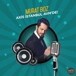 Murat Boz, 4 Haziran Cumartesi günü saat 20.30da Axis İstanbul AVMde sevenleriyle buluşuyor! #AxisİstanbulAvm https://t.co/4b5uDSeWbQ