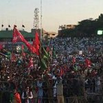"""charge crowd gathered in Jalsa #Mirpur Stadium #Kashmir Slogan Welcome @BBhuttoZardari Welcome #KarwanEBilawal https://t.co/gnbAvgCDDX"